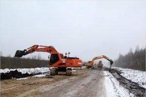 Дорожники приступили к строительству последнего участка дороги между Жуковкой и Сельцо