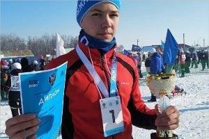 Брянский спортсмен стал первым на саратовской «Лыжне России»