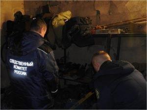 По факту гибели в огне троих человек брянскими следователями возбуждено уголовное дело