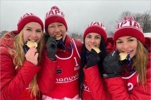 Брянские «снежные» волейболистки выиграли этап Евротура в Словакии