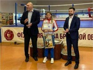 Елена Жиляева признана лучшим боксёром Брянской области