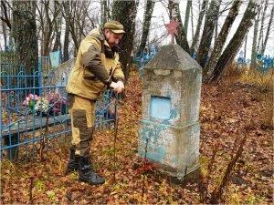 Брянские поисковики вернули имена двоим погибшим лётчикам Брянского авиаполка