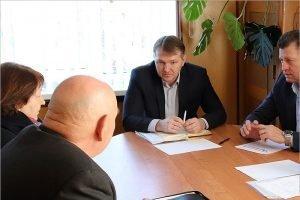 Депутат облдумы Дмитрий Агапов провёл в Трубчевске личный приём граждан