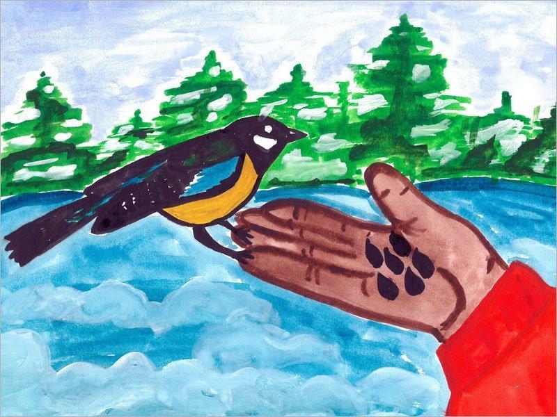 «Брянский лес» определил победителей акции «Покормите птиц!»