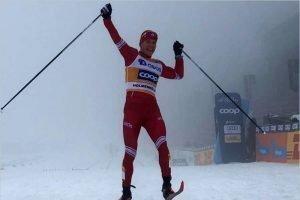 Александр Большунов до сих пор не получил призовые за победу в норвежском марафоне