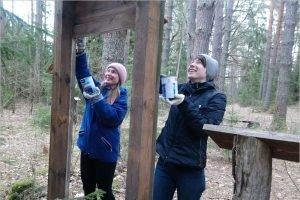 В «Брянском лесу» прошли первые в этом году волонтёрские выходные