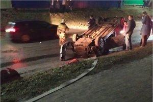Молодой водитель в Мглине сломал себе седалищную кость в ДТП