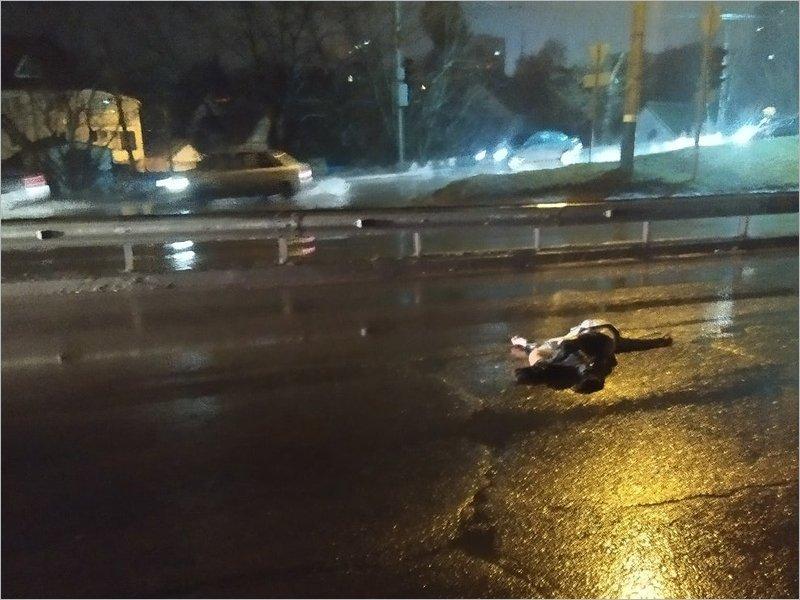 Подробности ночного ДТП  в Брянске: сбитый пешеход-нарушитель мёртв