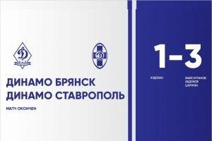 Брянское «Динамо» проиграло финальный контрольный матч на кисловодском сборе