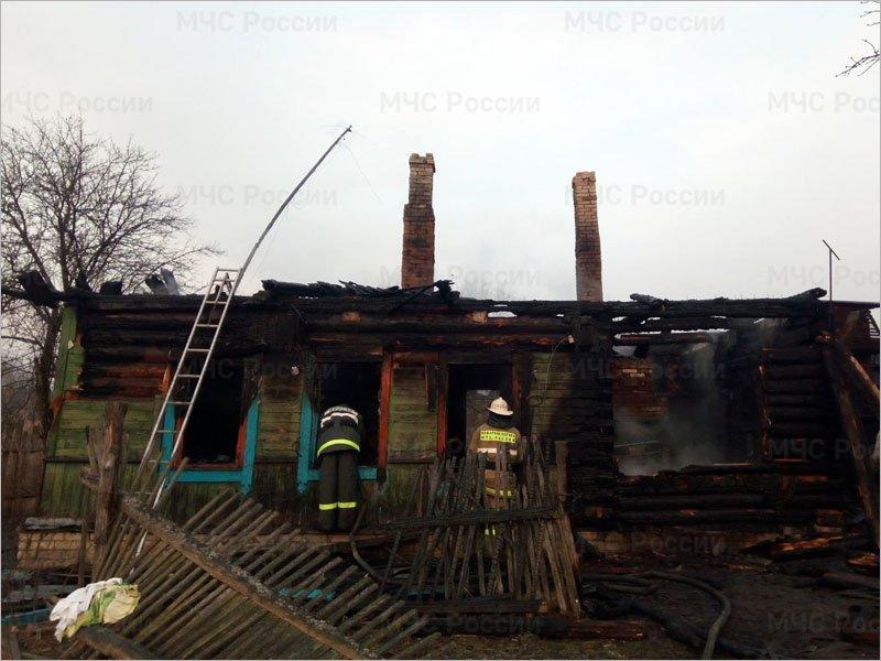 Трагедия в Клетне — в ночном пожаре сгорели отец и дочь