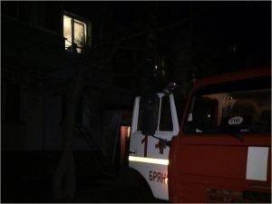 Брянские пожарные потушили постель и человека в ней