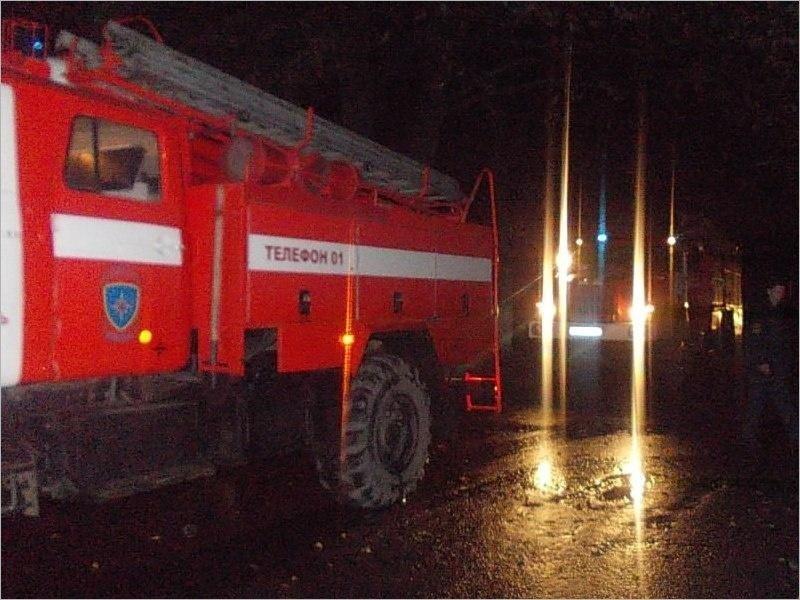 В суземском селе выгорел дом, жертвой пожара стал один человек
