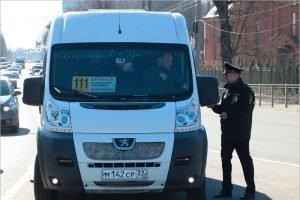 За время операции «Автобус» брянские гаишники поймали  на нарушениях 11 маршрутчиков