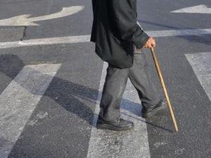 Ежедневно в Брянске до полусотни пенсионеров нарушают правила дорожного движения