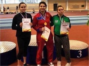 Брянская параспортсменка стала победительницей соревнований на Кубок России