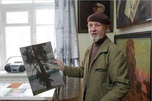 Заслуженному художнику России Юрию Махотину исполнилось 90 лет