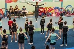 Маргарита Мамун провела в Брянске мастер-класс по художественной гимнастике