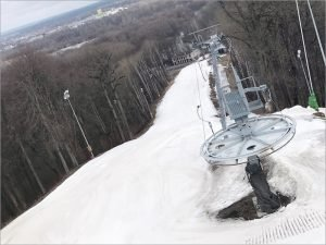 На склонах брянских «Соловьёв» завершился горнолыжный сезон