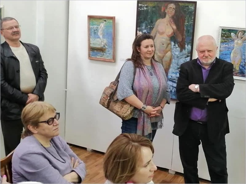 В Брянском художественном музее открылась выставка полотен жанра «ню»