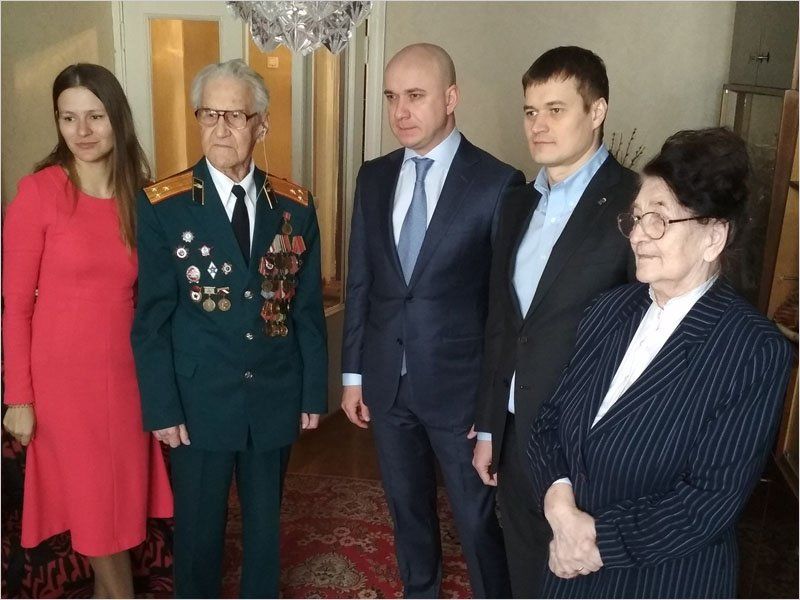 «Память говорит»: брянский ветеран войны стал одним из героев документального фильма