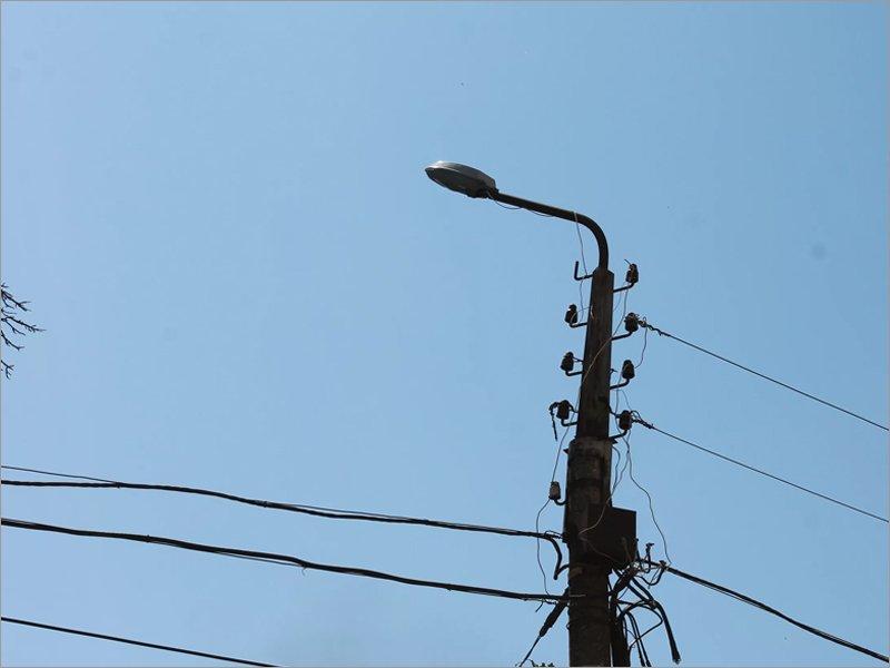 Власти Брянска обещали до конца года заменить две тысячи уличных светильников
