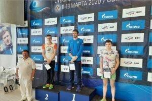 Брянский пловец Алексей Артамонов стал вторым на Кубке России