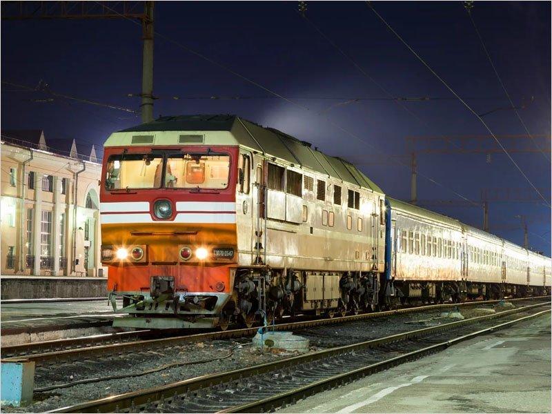 Прекращается движение поездов между Россией и Белоруссией