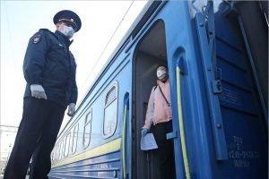 Через Брянск прошли два спецпоезда, вывозящие граждан из Украины и из России