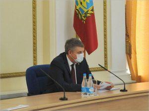 Александр Богомаз отправится на видеосовещание с президентом по коронавирусу