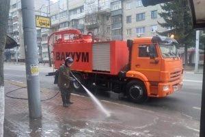 В Брянске к дезинфекции отмоют почти 600 остановок