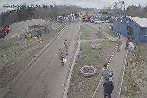В Брянске произведена дезинфекция мусороперерабатывающего завода