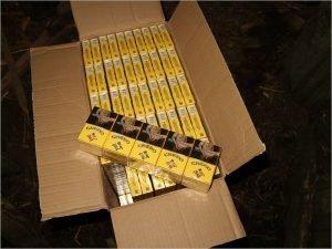 Брянские пограничники перехватили белорусских сигарет на 3 млн. рублей