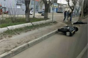 В ДТП у Литейного моста в Брянске на месте погиб мотоциклист
