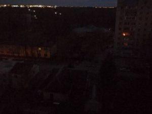 Часть Брянска вечером 21 апреля осталась без электричества