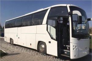 В Брянск приехал новый клубный автобус для футбольного «Динамо»