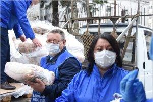 За месяц  волонтёры передали адресную помощь более, чем 288 тыс. россиянам