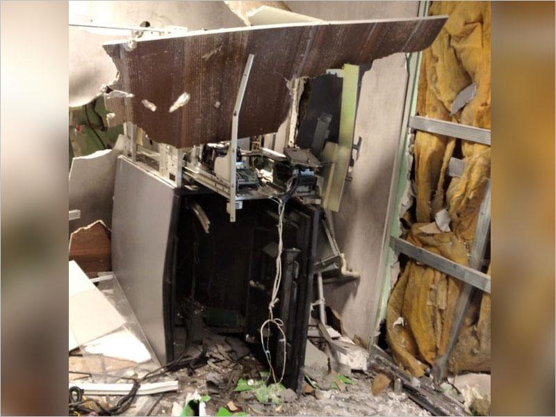 В Белых Берегах взорван банкомат в супермаркете «Пятёрочка»