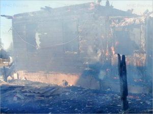 В сгоревшем доме в дятьковском посёлке Ивот погиб мужчина