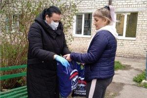 «Волонтёр Госдумы» Валентина Миронова передала помощь жителям Брянского района