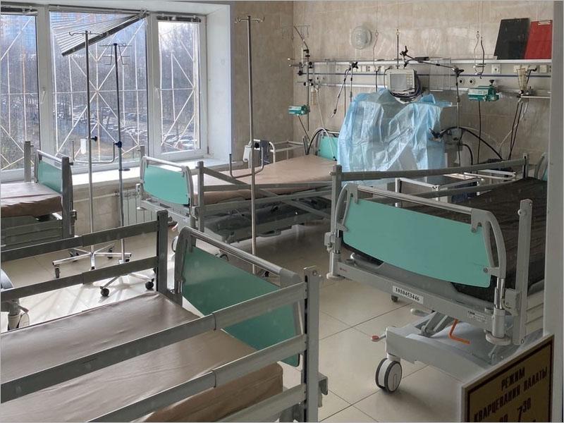 Темп роста заболевших COVID-19 в Брянской области уменьшился