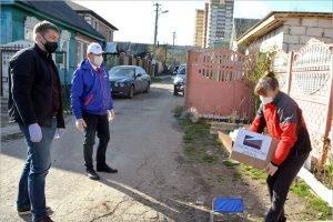 Брянская «ОПОРА РОССИИ» доставила нуждающимся наборы товаров первой необходимости