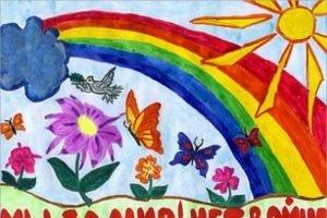 Конкурс детского рисунка: самым маленьким жителям Брянской области предложили нарисовать мир без войны