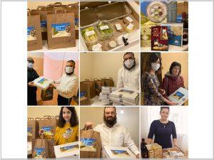 Волонтёры брянской иудейской общины доставили полторы сотни готовых «пасхальных» наборов