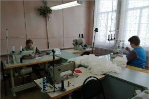 Погарский райпотребсоюз наладил собственное производство защитных масок
