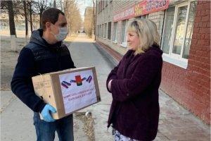 Депутаты брянского горсовета доставили продуктовые наборы уже 400 нуждающимся