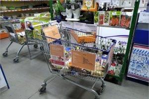 В девяти магазинах Брянска появились «тележки добра»