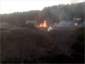 В Жуковке вновь горит мусорный полигон. Теперь уже новый