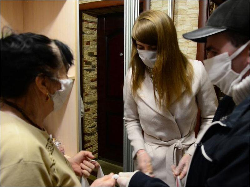 Волонтёрский штаб «Мы вместе» возобновил свою работу в Брянской области