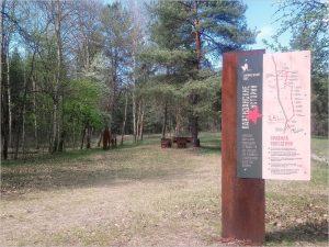 В «Брянском лесу» полностью обновлена тропа «Партизанские истории»