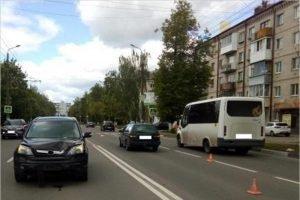 Брянская полиция ищет свидетелей смертельного ДТП в Бежице 21 мая